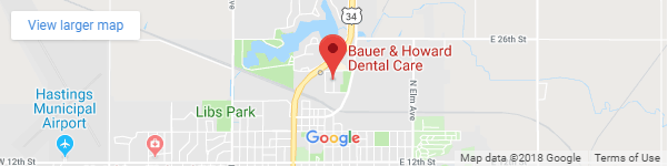 Hastings Family Dental map